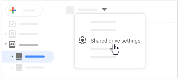 Protect all files in a shared drive