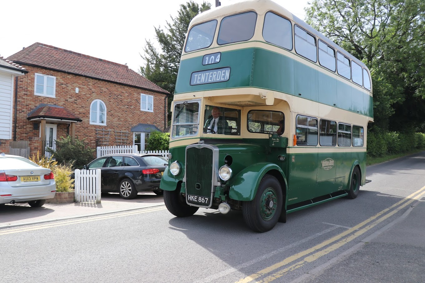 Tenterden Bus Rally 2018 Tenterden Town Station