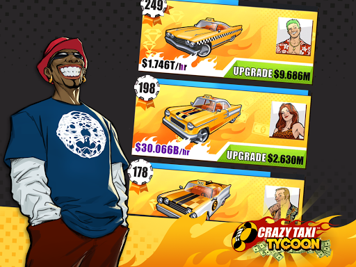Crazy Taxi Tycoon  {cheat|hack|gameplay|apk mod|resources generator} 4