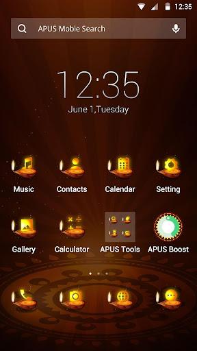 Diwali theme for APUS
