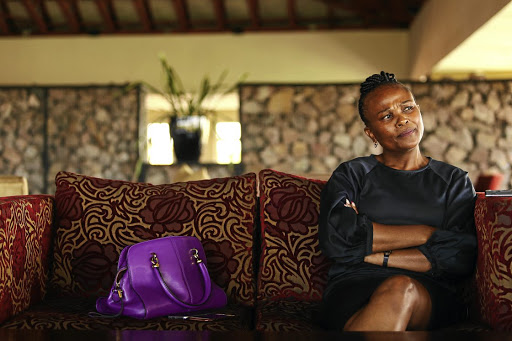Busisiwe Mkhwebane. Picture: SUNDAY TIMES