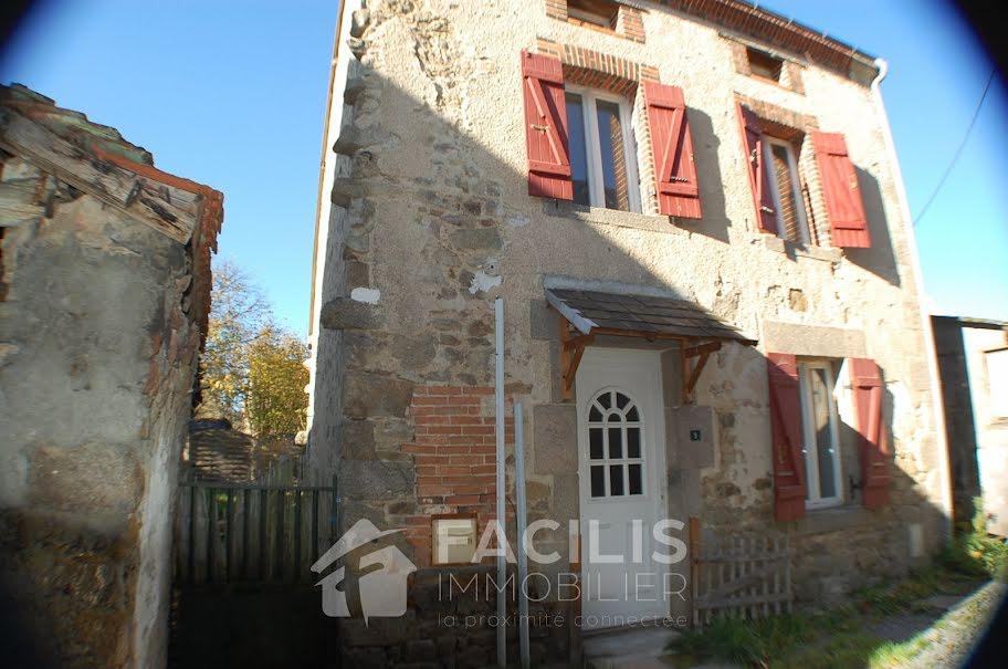 Vente maison 5 pièces 90 m² à Parsac (23140), 59 920 €