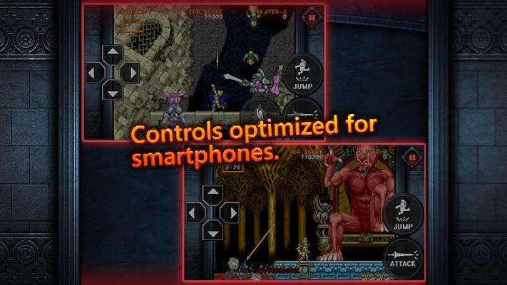 Ghouls'n Ghosts MOBILE- screenshot