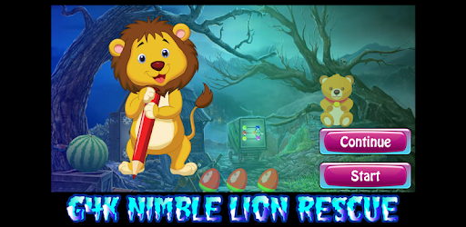Alt image Best Escape Game 591 Nimble Lion Rescue Game