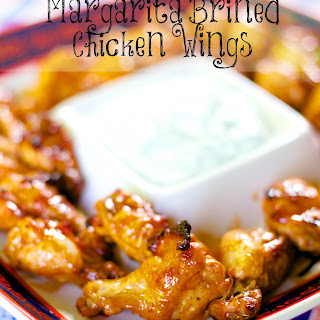 Margarita Brined Chicken Wings.