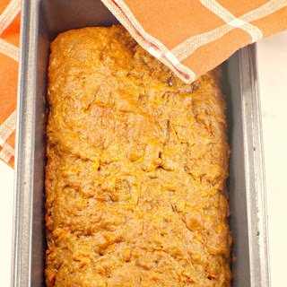 Healthy Carrot Loaf.