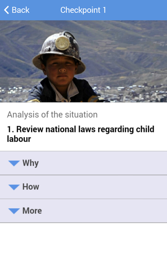 Eliminating Child Labour- screenshot