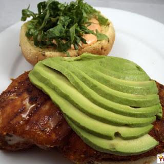 Mexi- Chicken Sandwich.