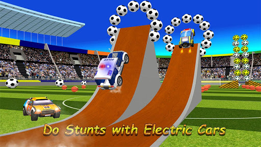 Happy Soccer League : Kids Electric Cars 1.2 screenshots 2