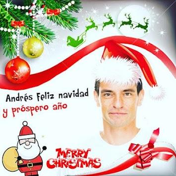 merry christmas photo editor poster