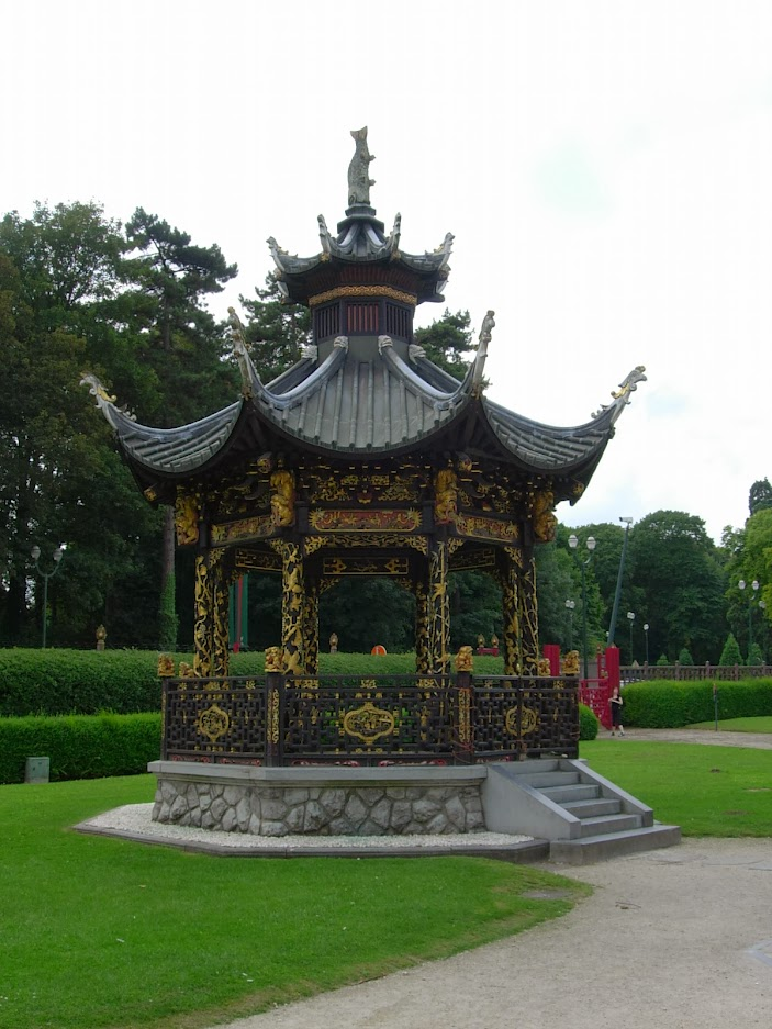 Kiosque chinois à Laeken