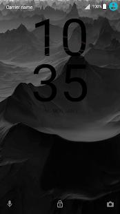 Tema | Black | X - náhled