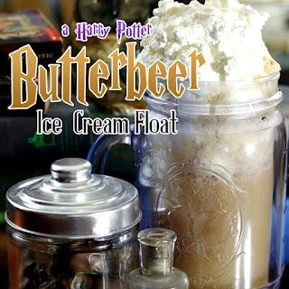 Homemade Butterbeer Floats