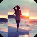 Square Blur- Blur Image Background Music Video Cut icon