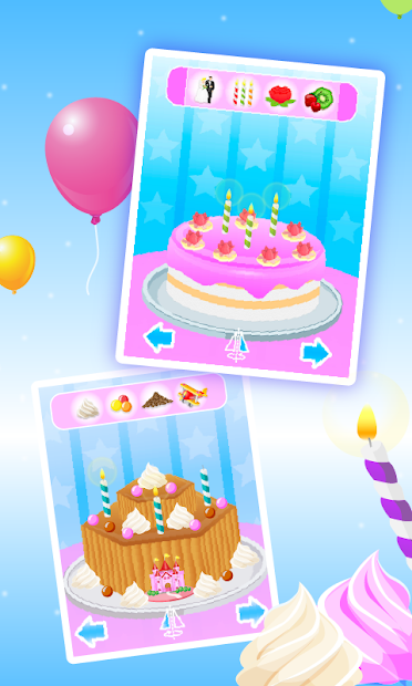 Cake Maker - Cooking Game Android App Screenshot
