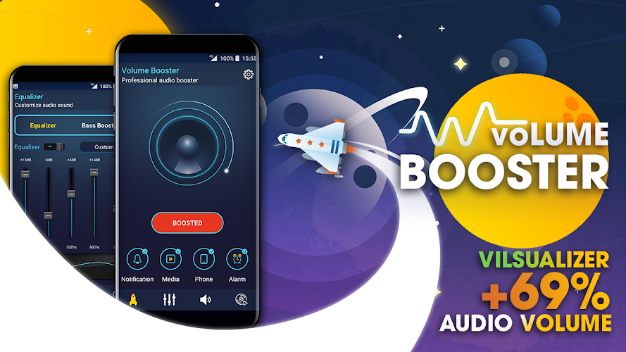Download Super Music Volume Booster: Bass Booster Android