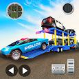 US Police CyberTruck Car Transporter: Cruise Ship