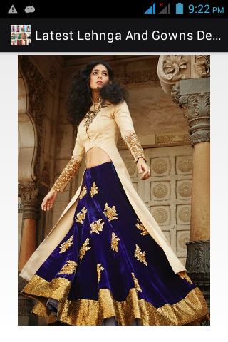 Lehenga Choli Designs 2018- screenshot