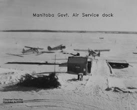 Photo: Old MGAS dock in Lac du Bonnet.