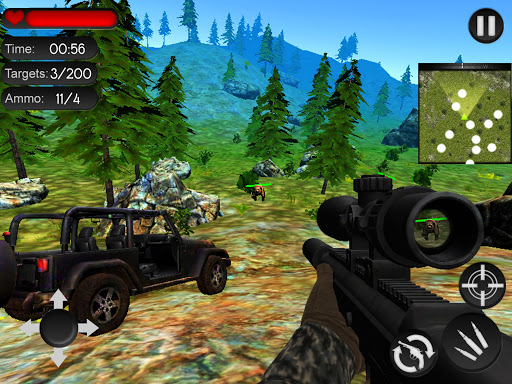 Bear Hunting on Wheels 4x4 - FPS Shooting Game 18 apkmr screenshots 12