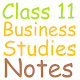 Class 11 Business Studies Note icon