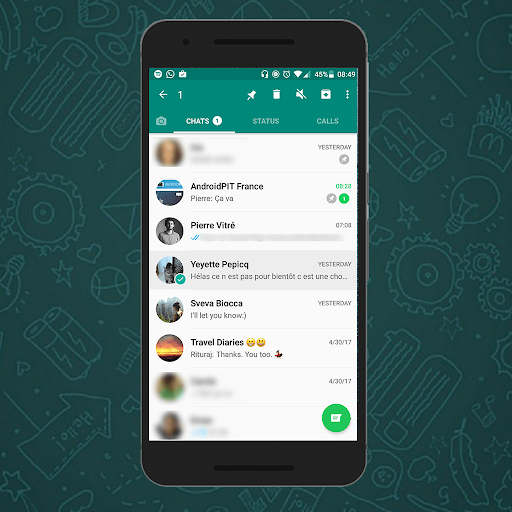 Reference for whatsupp messenger