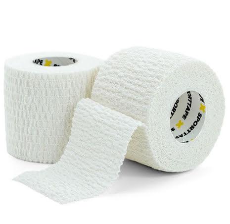 Sporttape Stretch Tape EAB, 5cm x 4,5m - Vit
