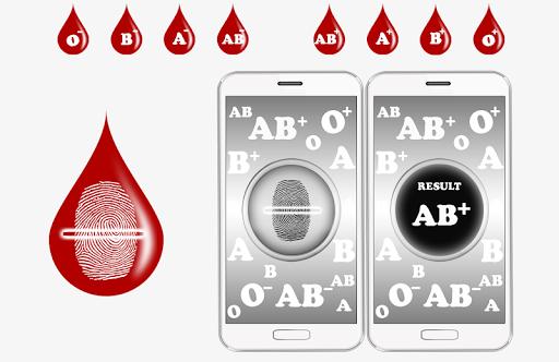 혈액 그룹 검출기 장난