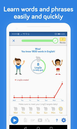 Learn Languages | LingQ Language App with SRS screenshot 1