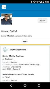 Bayt.com Job Search- screenshot thumbnail