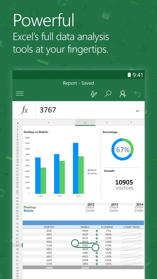 Ediblewildsus  Fascinating Microsoft Excel  Android Apps On Google Play With Remarkable Microsoft Excel Screenshot With Delightful Excel Personnel Inc Also Excel Formula Value In Addition In Excel Formulas And Multiple If Statement Excel As Well As Date Comparison In Excel Additionally Excel Password Protect File From Playgooglecom With Ediblewildsus  Remarkable Microsoft Excel  Android Apps On Google Play With Delightful Microsoft Excel Screenshot And Fascinating Excel Personnel Inc Also Excel Formula Value In Addition In Excel Formulas From Playgooglecom