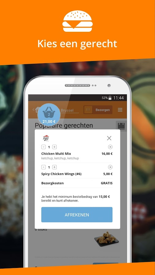 Takeaway.com - Order food- screenshot