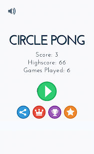 Circle Pong- screenshot thumbnail