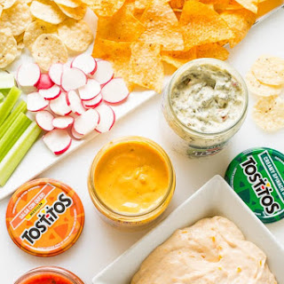 3-Ingredient Party Cheese Dip Recipe