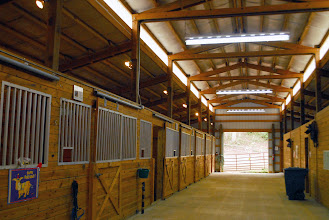 Photo: WoHeLo Stables Interior  built in 2000