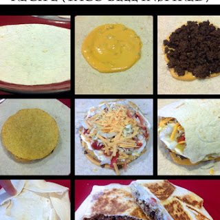 Homemade Crunchwrap Supreme Recipe - Taco Bell Inspired (Healthy and Easy Version)