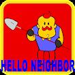Horror addon Hello Neighbor map for MCPE
