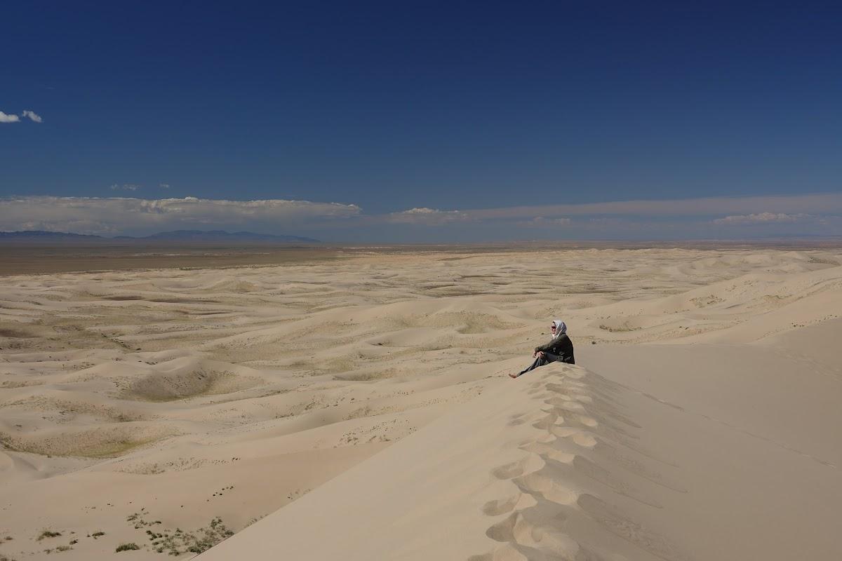 Contemplation du haut de la Dune