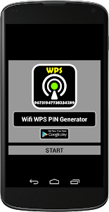 WIFI WPS PIN GENERATOR screenshot 1