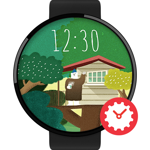 Tom's Cabin watchface by Debb