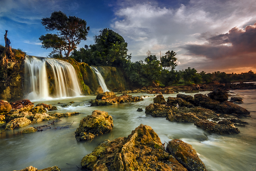 waterfall by RIO DJOENED - Landscapes Waterscapes