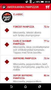 Pizza Hut Sverige screenshot 3