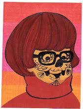 Photo: Wenchkin's Mail Art 366 - Day 124, card 124a