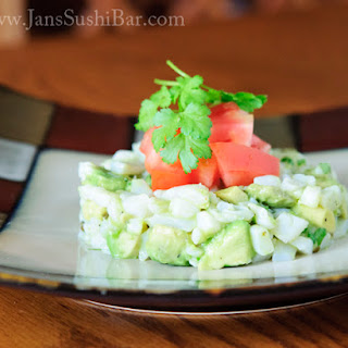 Avocado and Scallop Ceviche