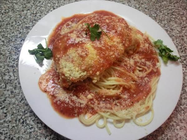 Oven Baked Chicken Parmigiano Recipe