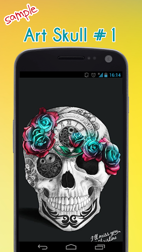Skull Wallpaper 1.5 screenshots 2