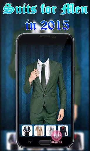 Man Formal Suit Camera