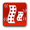 Earthquakes and alerts icon