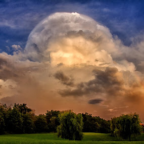by Carolyn Odell - Landscapes Cloud Formations