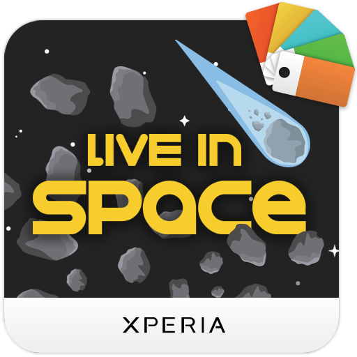 XPERIA™ Live in Space Theme app for Android